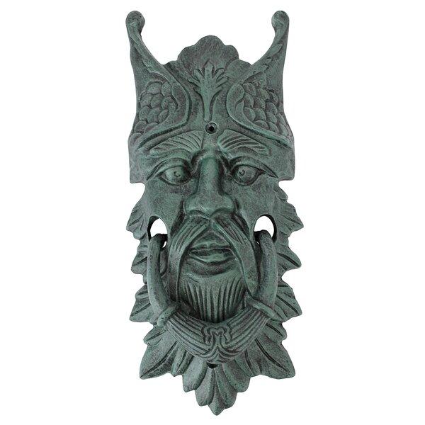 Castle Gladstone Greenman Door Knocker by Design Toscano