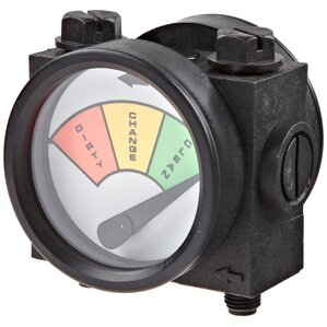 Differential Pressure Gauge for 3G Meter Mount Housing by Pentek