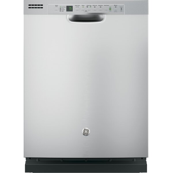 24 51 dBA Built-In Dishwasher with Front Controls