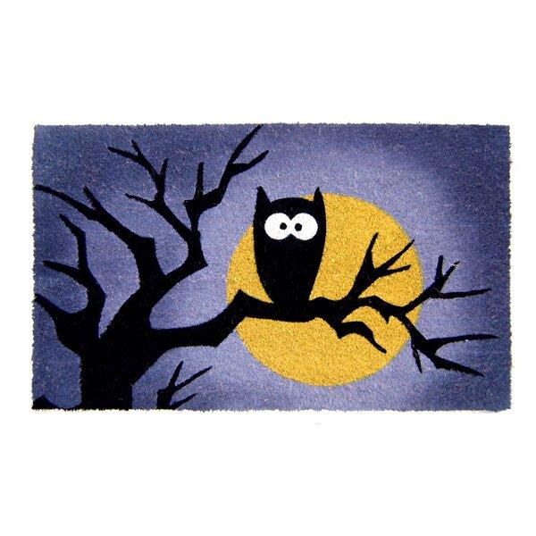 Halloween Owl Doormat by Geo Crafts, Inc