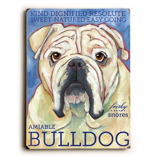Bulldog Vintage Advertisement by Artehouse LLC