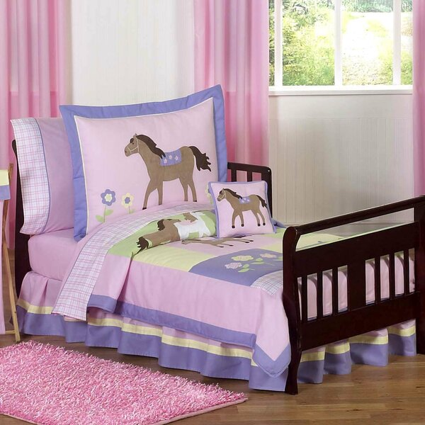 Pony 5 Piece Toddler Bedding Set by Sweet Jojo Designs