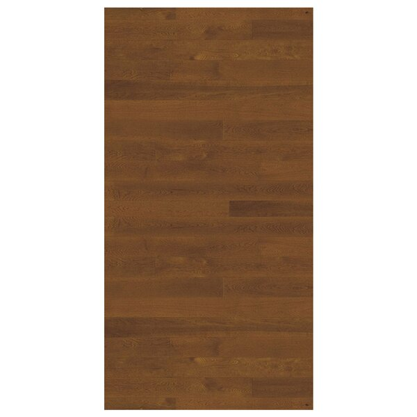 Linnea 4-5/8 Engineered Oak Hardwood Flooring in Nougat by Kahrs