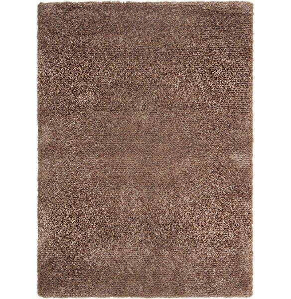 Sienna Hand-Tufted Camel Area Rug by Latitude Run