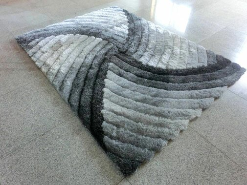 Grey Area Rug by Rug Tycoon