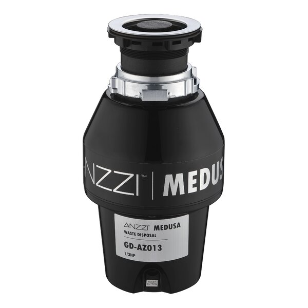 Medusa Series 1/3 HP Continuous Garbage Disposal by ANZZI