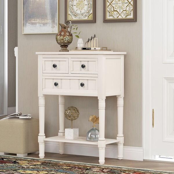 Rosecliff Heights White Console Tables