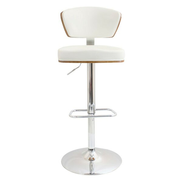 Felix Adjustable Height Swivel Bar Stool by George Oliver