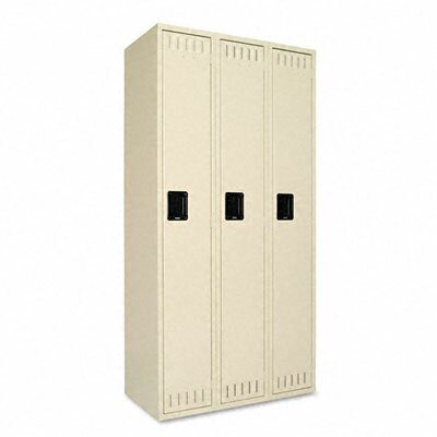 Tennsco 1 Tier 3 Wide School Locker by Tennsco Corp.
