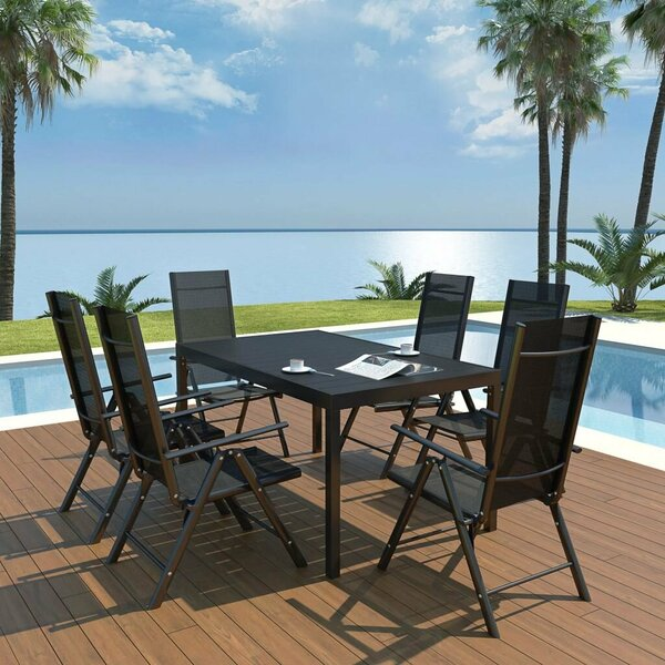 Jandrain 6 Seater Dining Set by Ebern Designs