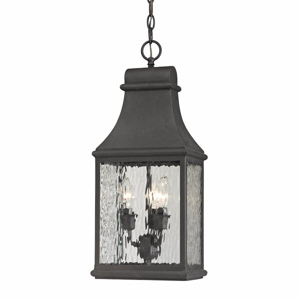 Negron 3-Light Outdoor Hanging Lantern by August Grove