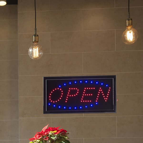 Open Animated Marquee Sign by Winston Porter