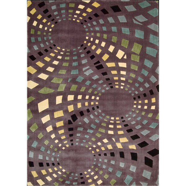 Adelina Chocolate Area Rug by Latitude Run