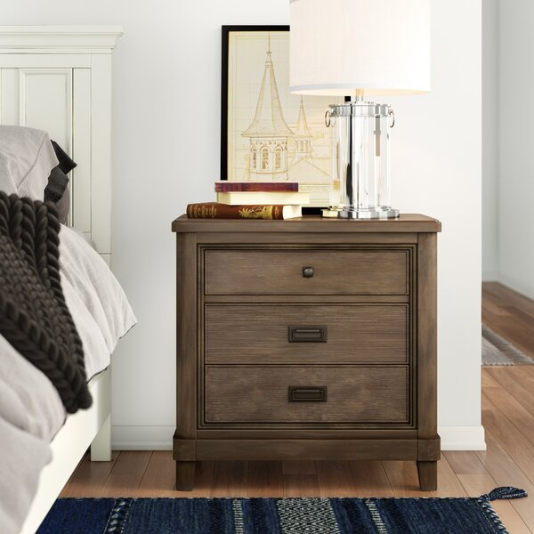 Medfield 3 Drawer Nightstand By Three Posts by Three Posts Comparison