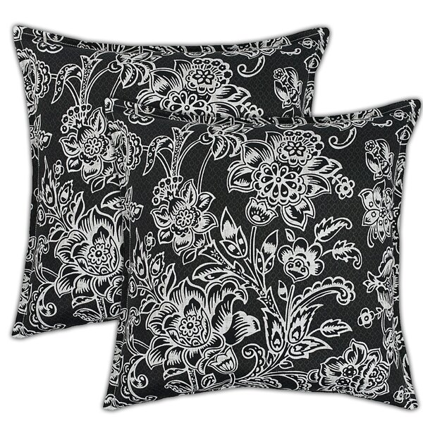 Riviera Outdoor Throw Pillow (Set of 2) by Sherry Kline