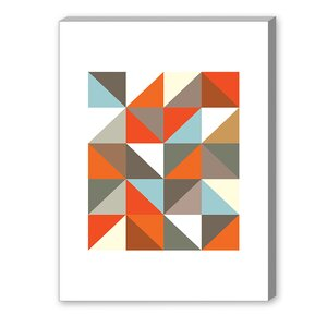 Visual Philosophy Harlequin 3 Graphic Art on Canvas by Americanflat