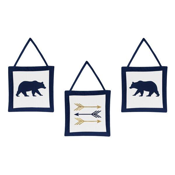 Big Bear 3 Piece Wall Hanging Set by Sweet Jojo Designs