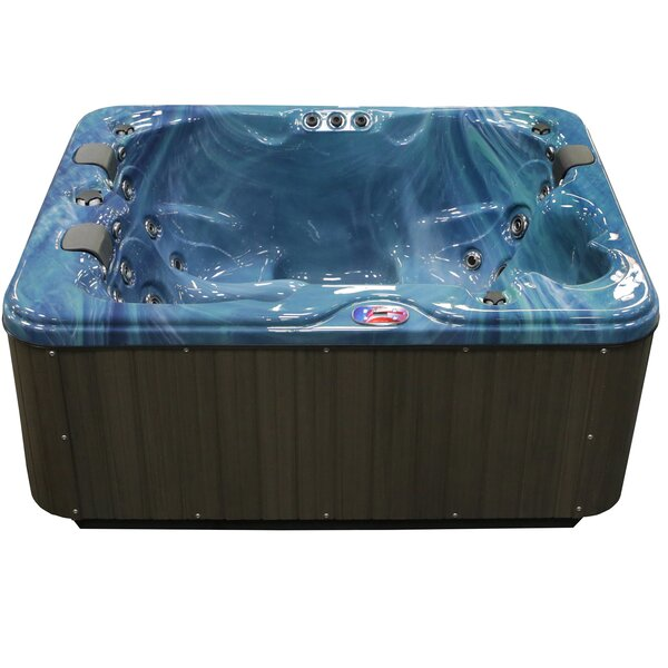 3-Person 34-Jet Spa with Bluetooth Stereo System by American Spas