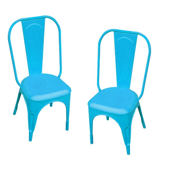 Leigh Classique Stacking Patio Dining Chair (Set of 2) by Leigh Country