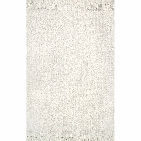 Becnel Ivory Indoor/Outdoor Use Area Rug by George Oliver