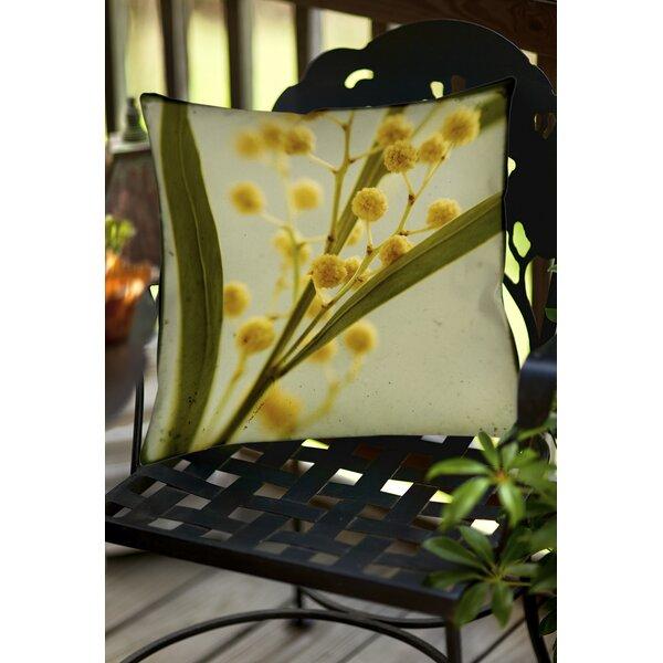 Vintage Botanicals 1 Indoor/Outdoor Throw Pillow by Manual Woodworkers & Weavers