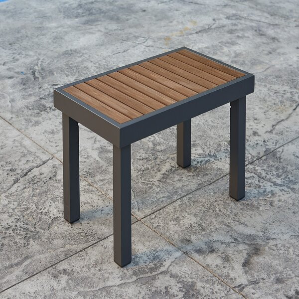 Kenwood Aluminum Teak Picnic Bench by The Outdoor GreatRoom Company The Outdoor GreatRoom Company