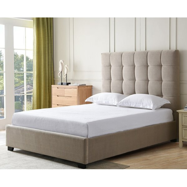 Bedsworth Upholstered Panel Bed by Canora Grey