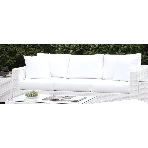 Kuhn Sofa with Cushion by Rosecliff Heights Rosecliff Heights