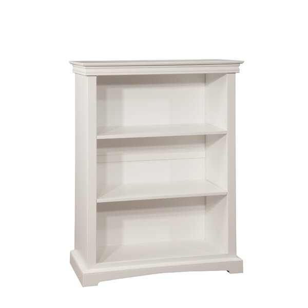 Vernell 48 H Wood Bookcase with Two Adjustable Shelves by Harriet Bee