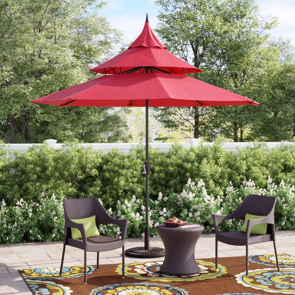 Iyanna 9' Market Umbrella By Andover Mills by Andover Mills Wonderful