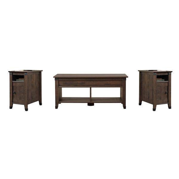 Chantrell 3 Piece Coffee Table Set