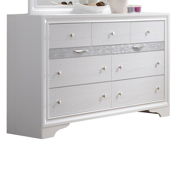 Cecelia 9 Drawer Dresser with Jewelry Drawers by Rosdorf Park