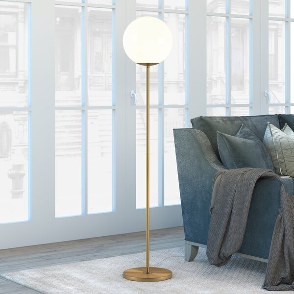 Acton 63 Torchiere Floor Lamp by George Oliver