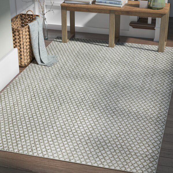 Latimer Modern Hand-Woven Beige Area Rug by Laurel Foundry Modern Farmhouse