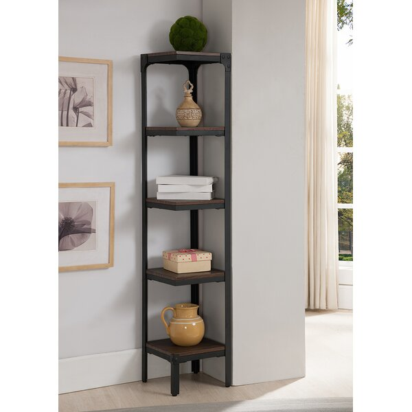 5 Tier Corner Bookcase by InRoom Designs