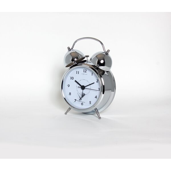 Alayna Tabletop Alarm Clock by Charlton Home