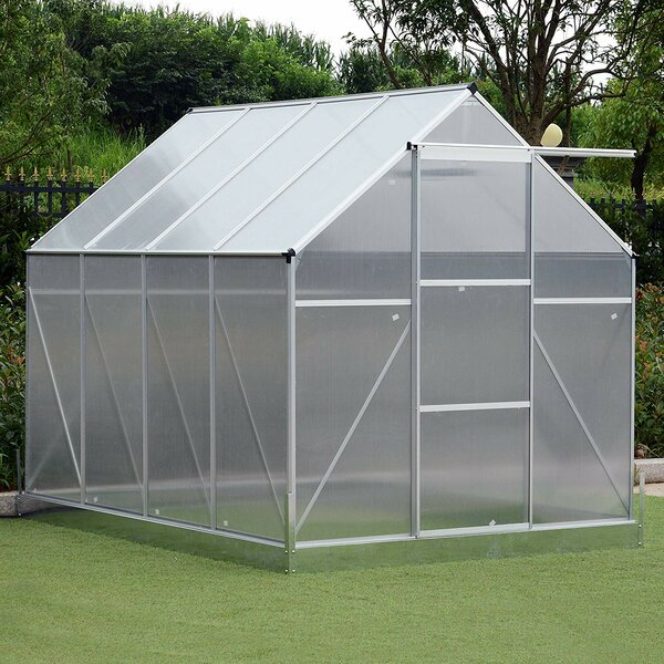 6.5 Ft. W x 8.5 Ft. D Greenhouse by Outsunny