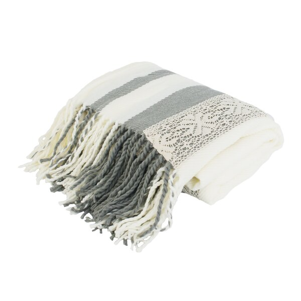 Windham Applique Knit Throw by Ophelia & Co.