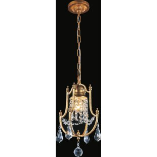 Electra 1-Light Lantern Pendant by CWI Lighting