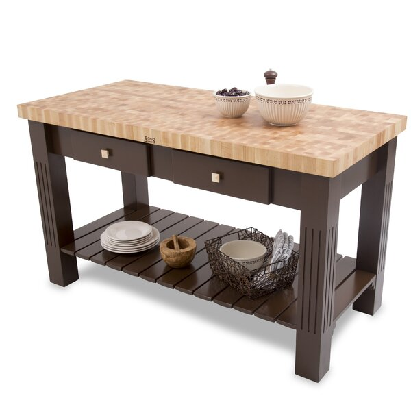 Grazzi Prep Table with Butcher Block by John Boos