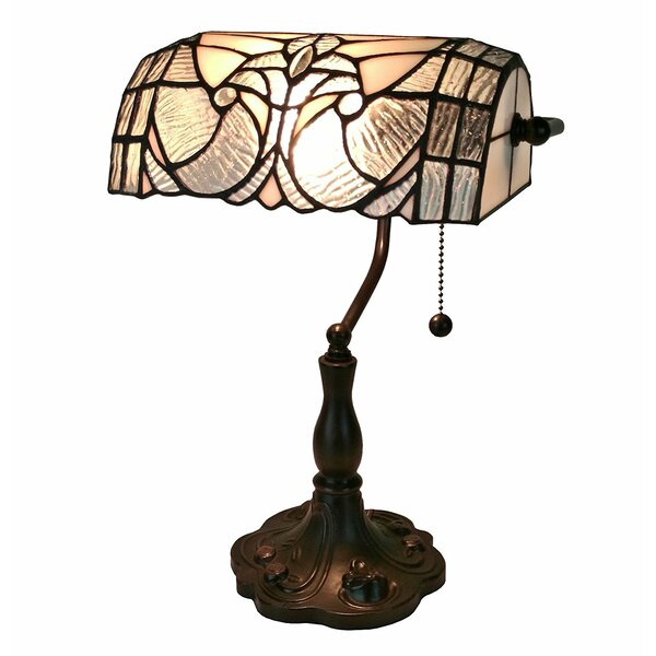 Floral Banker 13 Desk Lamp by Amora Lighting