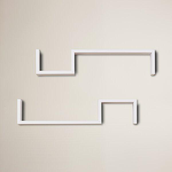 Wall Shelf (Set of 2) by Brayden Studio