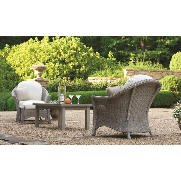 Regent Lounge Patio Seating Group with Cushions by Summer Classics