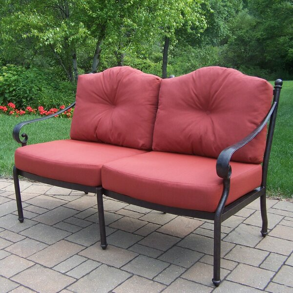 Berkley Deep Seating Loveseat with Cushions by Oakland Living