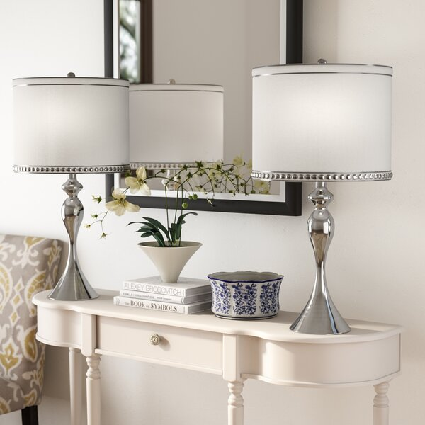 Wilder 26.75 Table Lamp (Set of 2) by Three Posts