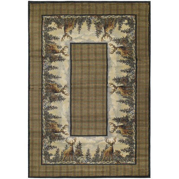 Hautman Standing Proud Brown Area Rug by Hautman Brothers Rugs