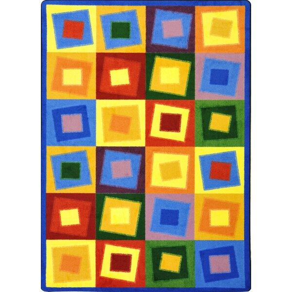Square off Balance Bright Area Rug by The Conestoga Trading Co.