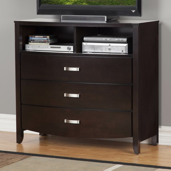 Rushmere 3 Drawer Chest by Latitude Run