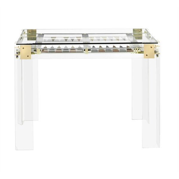 30 Pierre Acrylic Backgammon Table by Interlude