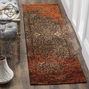 Anwick Rust/Brown Area Rug